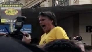 VÍDEO: Candidato presidencial brasileiro Jair Bolsonaro esfaqueado em ação de campanha