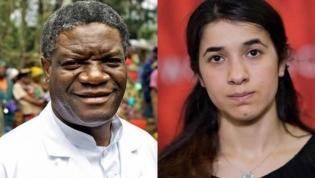 Denis Mukwege da RD Congo e Nadia Murad do Iraque ganham o Nobel da Paz 2018