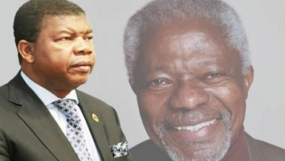 """João Lourenço destaca """"habilidade diplomática"""" pela paz de Kofi Annan"""