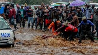 Fortes chuvas no Quénia causam 100 mortos e 260 mil deslocados